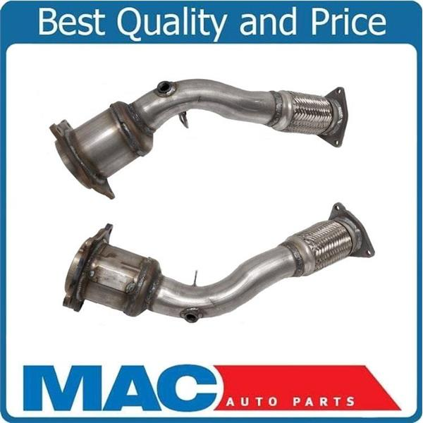 For 08-10 Cayenne L & R (2) Engine Flex Pipe With Catalytic Converters USA