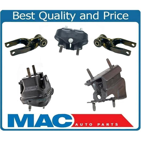 5Pc Mount Mount Kit OE Hydraulic New fits for 99-02 Oldsmobile Intrigue 3.5L