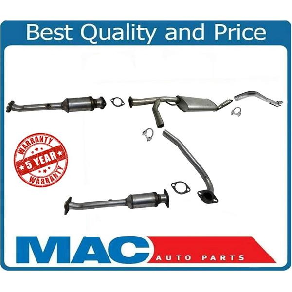 catalytic converters & muffler exhaust system complete for 05-07