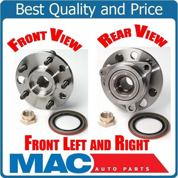 For 86-91 Olds Delta 88 Buick LaSabre (2) Front Hub & Wheel Bearing Kits NEW