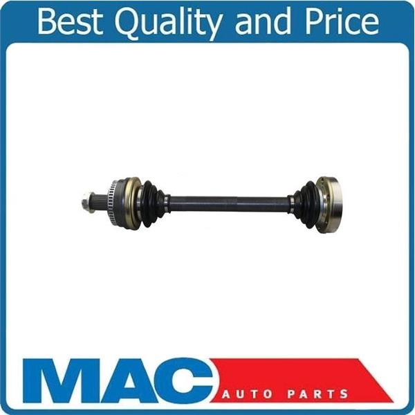 (1) Brand New CV Axle Shaft Fits BMW 330I 01-05 Z4 03-05 Rear Lft MUST CALL