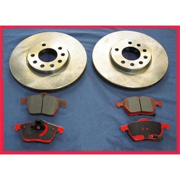 1988, 1990, 1992 Golf GTi 16 V Brake Rotors & Pads