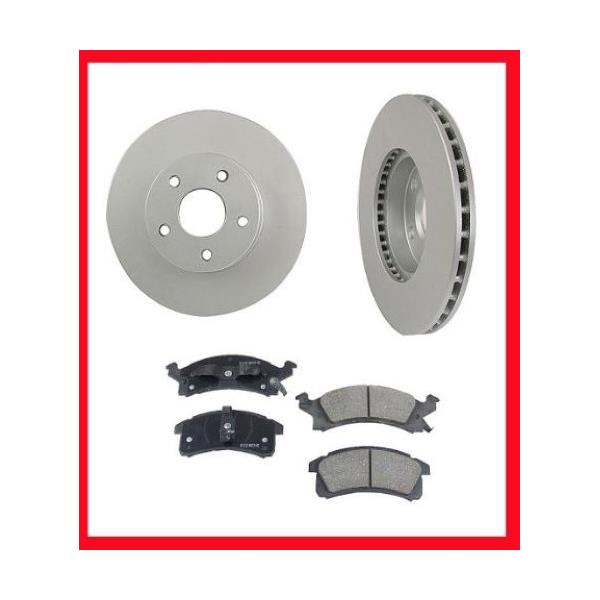 1992-1994 Sunbird or Grand AM Front Brake Rotors and Pads