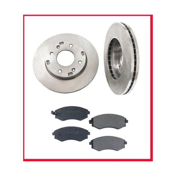 2003-2006 Optima 04-05 Sonata  Front Brake Rotors & Pads