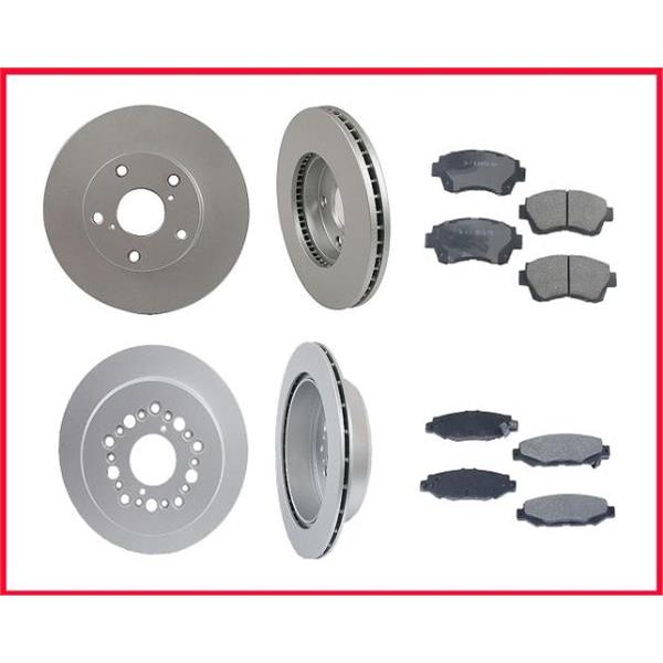 95-98 Lexus SC300 Front & Rear Rotors & Pads 31117 CD476 31181 MD572