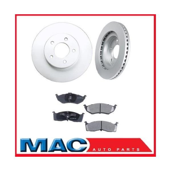 Chrys  300M LHS (2) 5386 11 7/8 Non Performance Disc Brake Rotors & Ceramic Pads