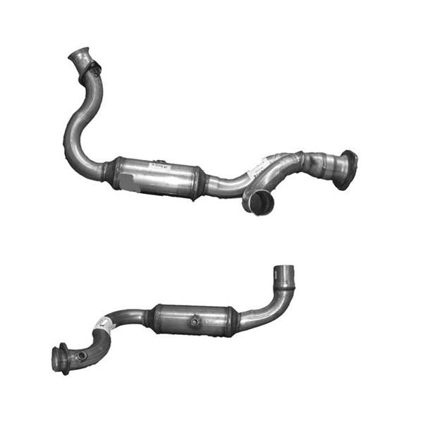 2008 F250 F350 5.4L Y-Pipe Dual Catalytic Converter For