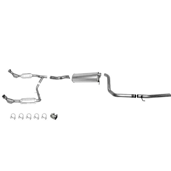 99 00 5 4l Expedition 4x4 Exhaust System 2 Catalytic Converter Must Ck Info Mac Auto Parts