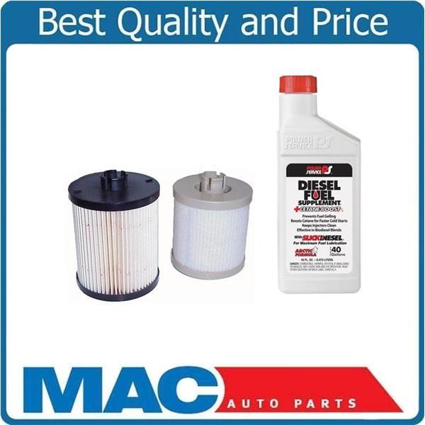 08-10 ford f250 f350 f450 super-duty 6 4l diesel water separator fuel filter    mac auto parts