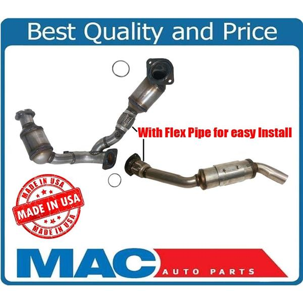 Front Y Pipe Rear Catalytic Converters 00-05 Sable Taurus 3 0L OHV Vin U or  2