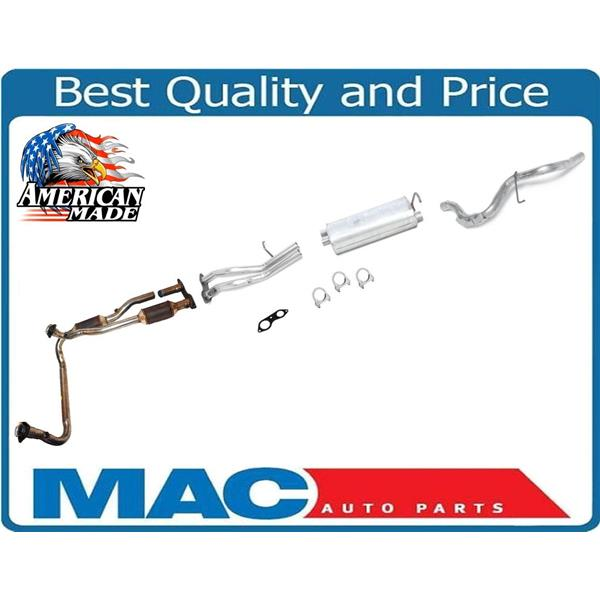 Exhaust System With Catalytic Converter 96-00 Chevy Tahoe GMC Yukon 4 Door  Only