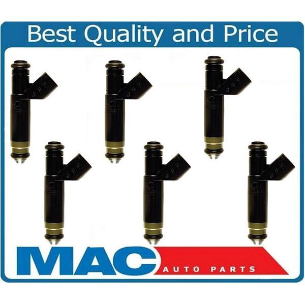 6 Fuel Injectors Re-Manufactured For E150 Econoline E250 4 2L V6 REF#  MP23080