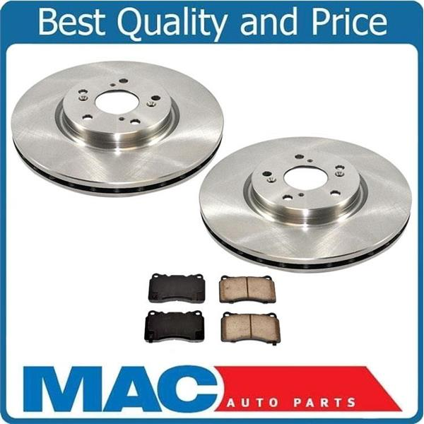 2004 2005 2006 Acura TL w//Auto Trans. Rotors Metallic Pads F+R OE Replacement