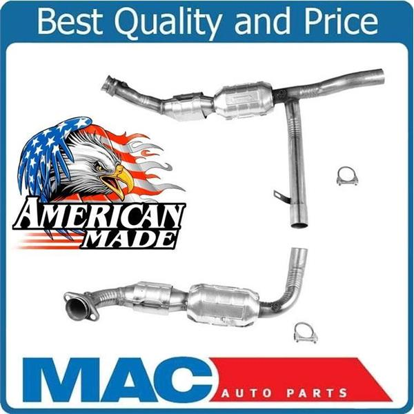 1998 1999 2000 F150 4x4 5 4l Catalytic Converter With 4r70w A T Transmission Mac Auto Parts