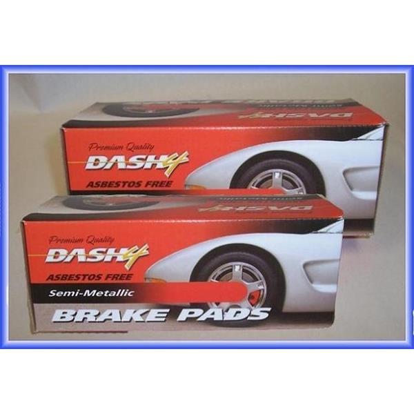 Dash4 MD1084 Semi-Metallic Brake Pad