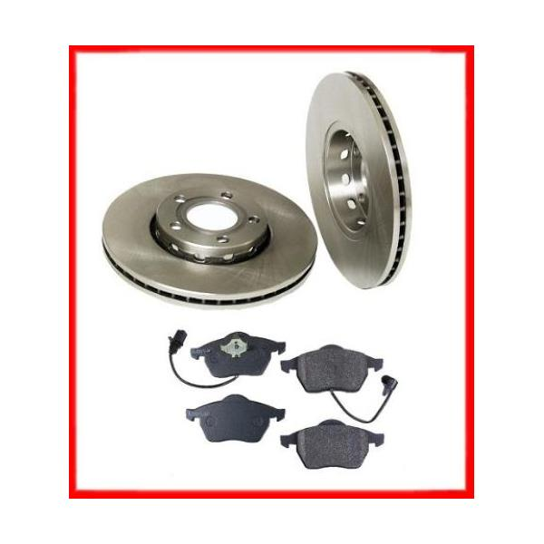 Audi A4 Quattro Front Brake Rotors And Pads 96 To 01 1999